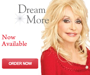 Dolly Parton's 'Dream More' book in stores this November!