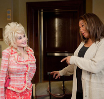 Dolly Parton & Queen Latifah in JOYFUL NOISE