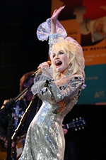 Dolly Parton promotes 9 To 5: The Musical at the House Of Blues in Los Angeles on March 28, 2008