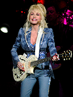 Dolly Parton plays Radio City Music Hall in New York on May 1st, 2008