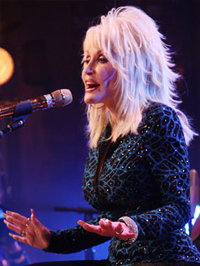 Dolly Parton performs on CMT's Unplugged at Studio 330