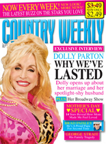 Dolly Parton on the May 11, 2009 issue of Country Weekly magazine
